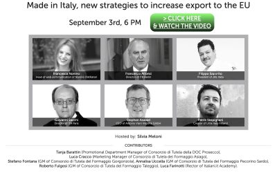 Made in Italy, new strategies to increase export to the EU